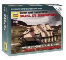 6183  САУ немецкий тяжелый истребитель танков Sd.Kfz. 173 «Ягдпантера»  (1:100)