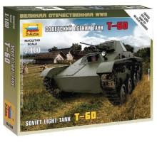 6258 Советский легкий танк Т-60 (1:100)