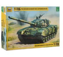 3551 Российский основной танк с активной броней Т-72Б (1:35)