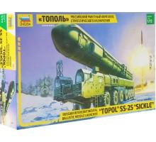 5003 Российский ракетный комплекс стратегического назначения Тополь (1:72)