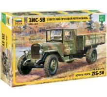 3529 Советский грузовой автомобиль ЗиС-5В (1:35)