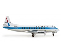 553681 Vickers Viscount 700 United Airlines