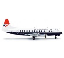 554053 Vickers Viscount 800 British Airways